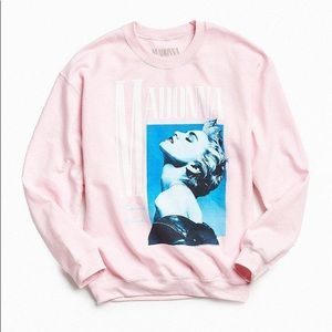 Pink True Blue Madonna Sweater